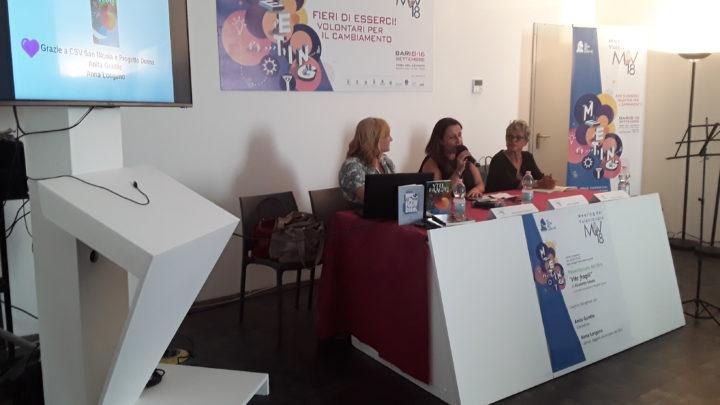 """PRESENTAZIONE DEL LIBRO """"VITE FRAGILI"""" di Elisabetta Sabato (Ed. Del Poggio), a cura dell'Associazione Progetto Donna"""