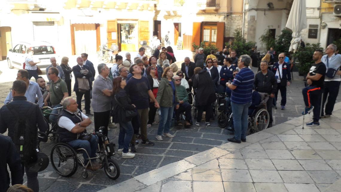 Accessibilità del borgo antico di Bari