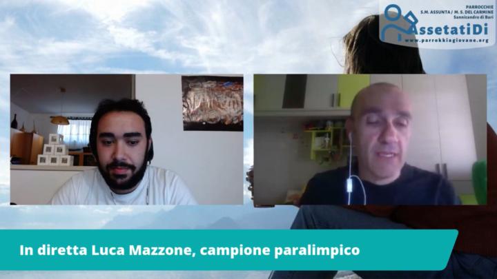 #AssetatiDi: Interviste al pozzo con il campione paralinpico Luca Mazzone