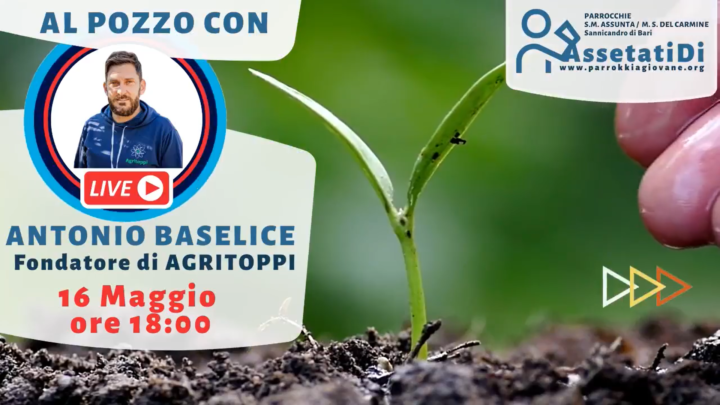 Promo #AssetatiDi: Interviste al Pozzo. Al telefono con Giuseppe Ferrante.