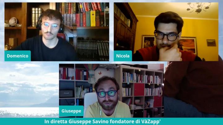 #AssetatiDi: intervista al pozzo con Giuseppe Savino fondatore di VàZapp'
