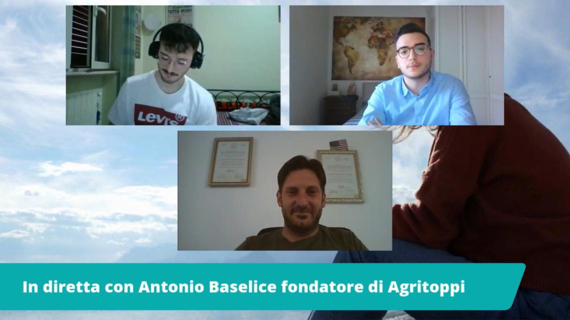 #AssetatiDi: Intervista al pozzo con Antonio Baselice fondatore di Agritoppi