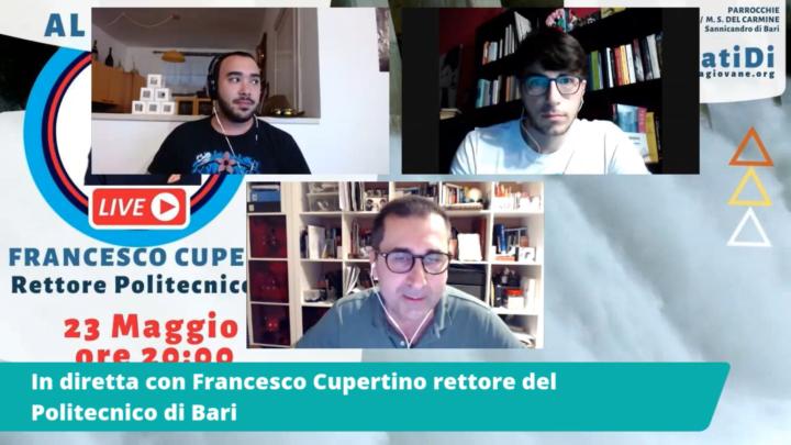 #AssetatiDi: Intervista al Pozzo con il Rettore del Poliba Francesco Cupertino