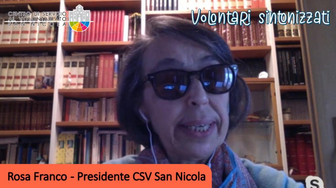 Ep.12 – Volontari Sintonizzati. Il CSV San Nicola risponde alle associazioni