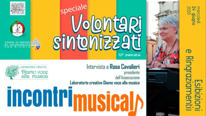 Ep.13 – Volontari Sintonizzati intervista Rosa Cavalieri