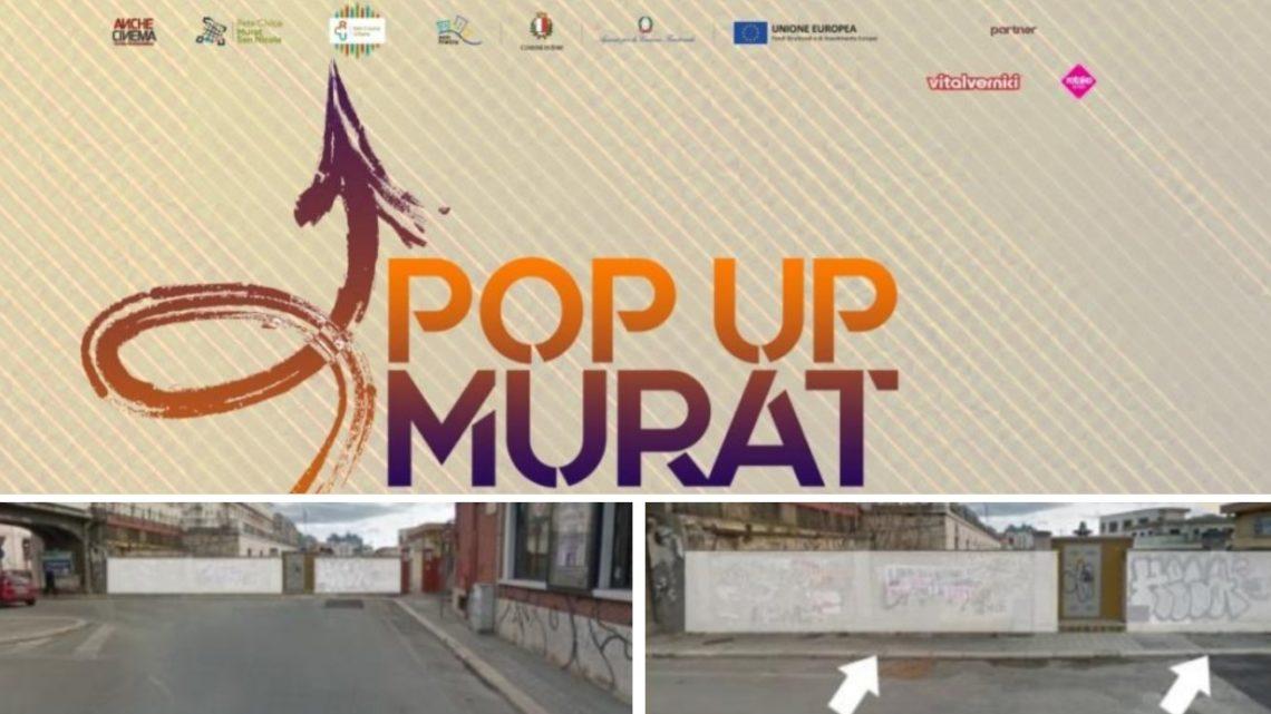 Street art, a Bari con Pop Up Murat. Un'opera per il sottopasso di via  Quintino Sella