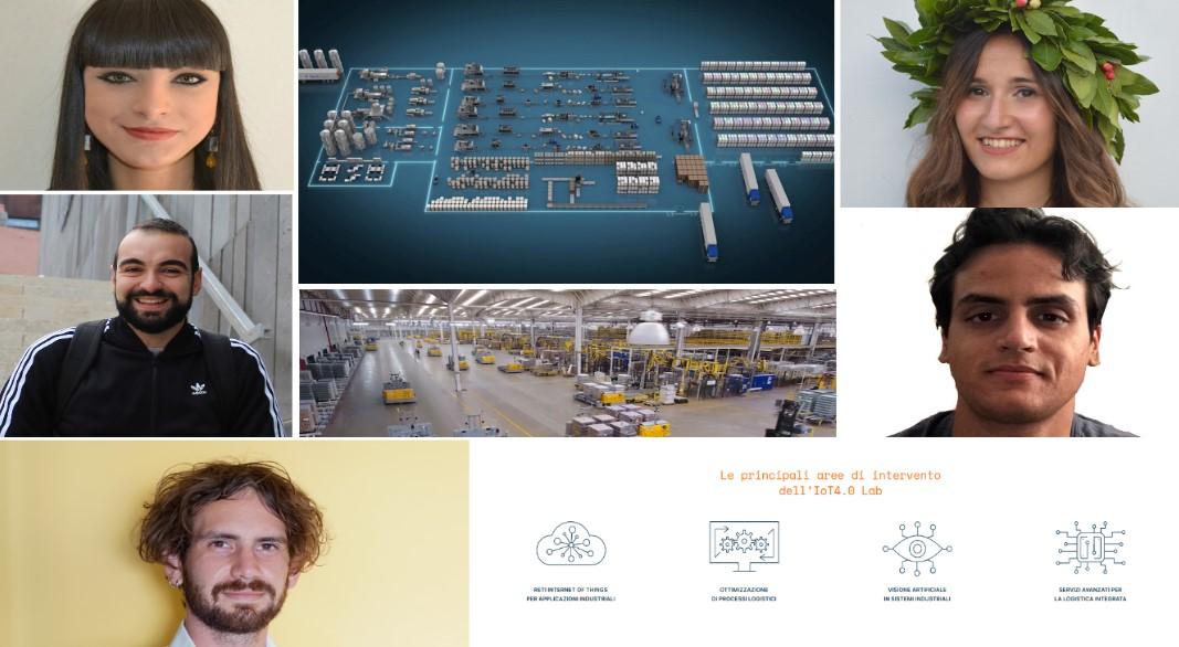 Innovazione per logistica aziendale. Giovani ingegneri e laureandi del Poliba presentano domani due progetti di laboratorio «IoT4.0»
