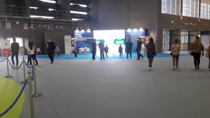 Live in Fiera al «Primo Salone dell'Innovazione Sostenibile»
